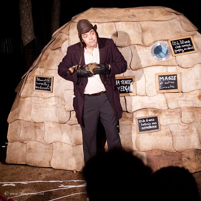 La Tente d'Edgar (lightbox)
